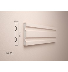 Profile decorative polistiren exterior acoperite cu rasina - LA25